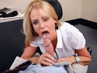 Madison James Office Porn